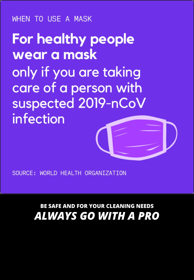 Seattle WA - Coronavirus - When to Use a Mask