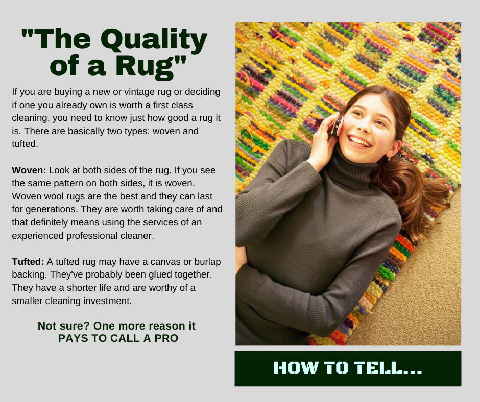 Shorewood IL - How to Tell Rug Quality