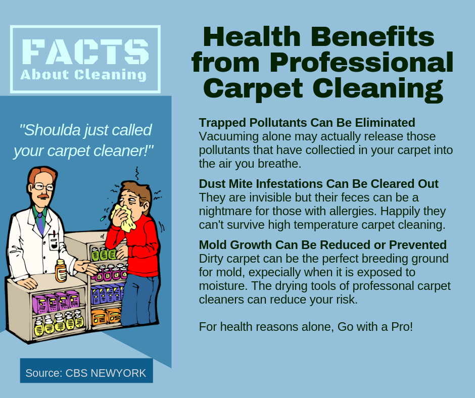 Wausau WI: Professional Carpet Cleaning Health Benefits